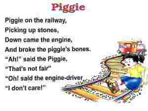 Piggie English Rhymes
