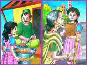 Bhukhe Ko Khana Kids Stories Stories For Kids